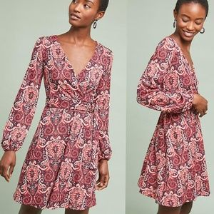 Anthropologie Paisley Printed Dress NWT $148